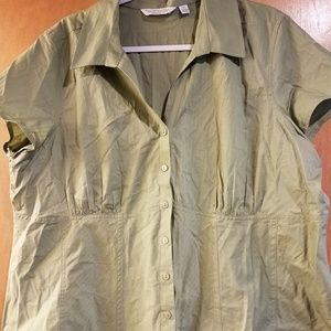 Great Northwest 2X Button Up Shirt w/Subtle Lines
